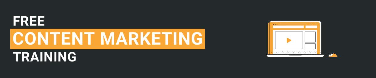 free-content-marketing-training
